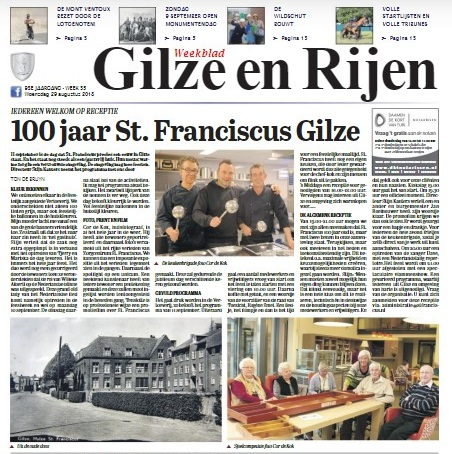 Franciscus in de media