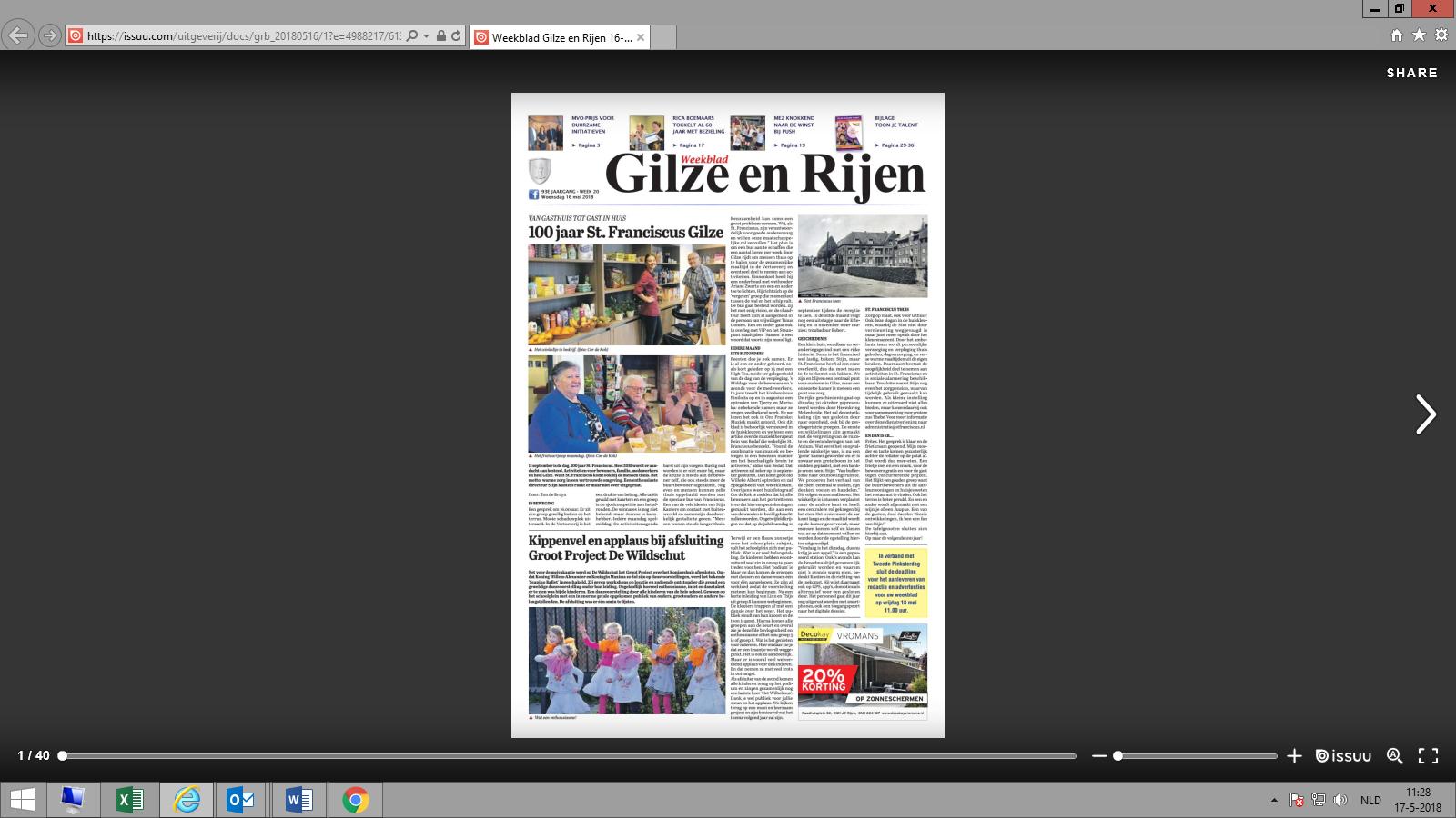 Weekblad Artikel