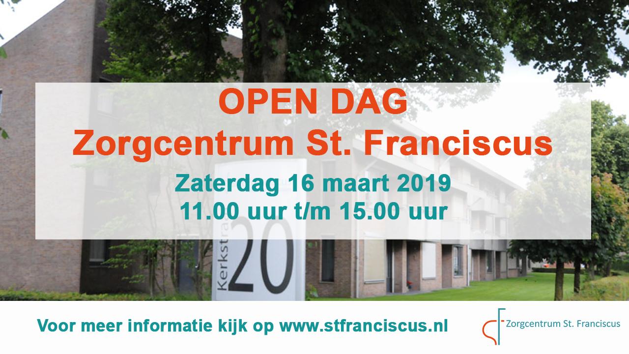 Open Dag 16 Maart
