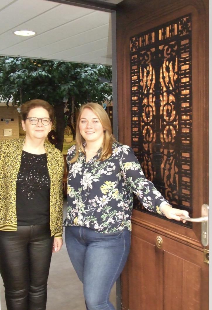 Karen En Aniek Werken Weer Bij Zorgcentrum St. Franciscus